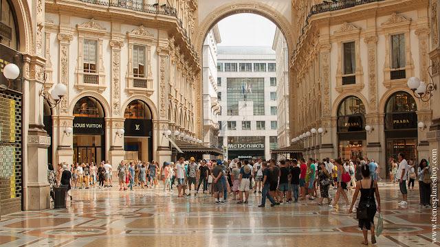 Galerías Victor Enmanuelle II viaje Milán Italia