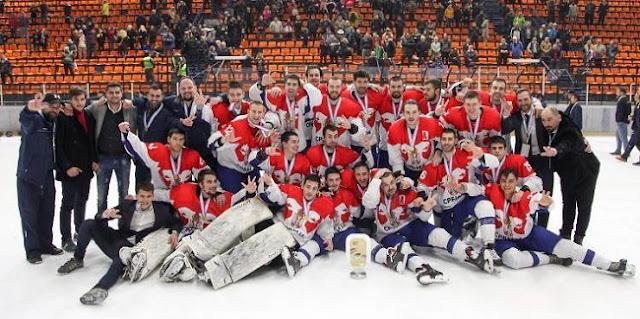 Српски хокејаши златом до Прве светске дивизије