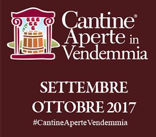 Cantine Aperte in Vendemmia settembre/ottobre Italia