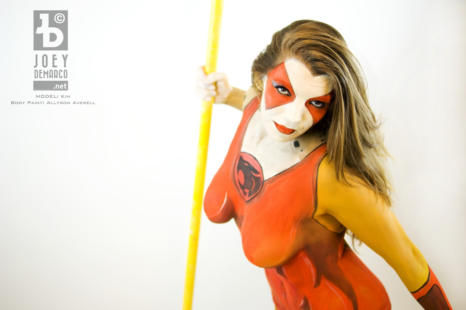 Photography by Joey DeMarco: Cheetara Body Paint