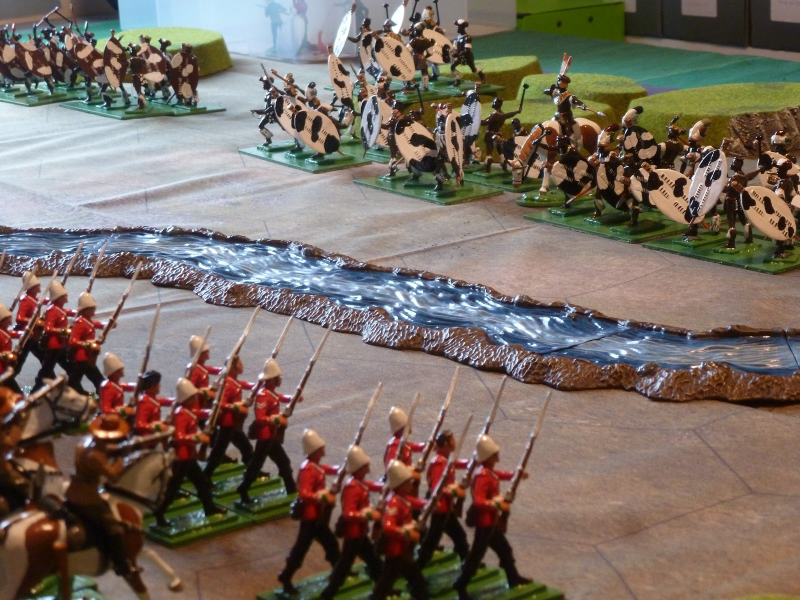 Collecting Toy Soldiers: Battle Cry Isandlwana with 54mm toy soldiers