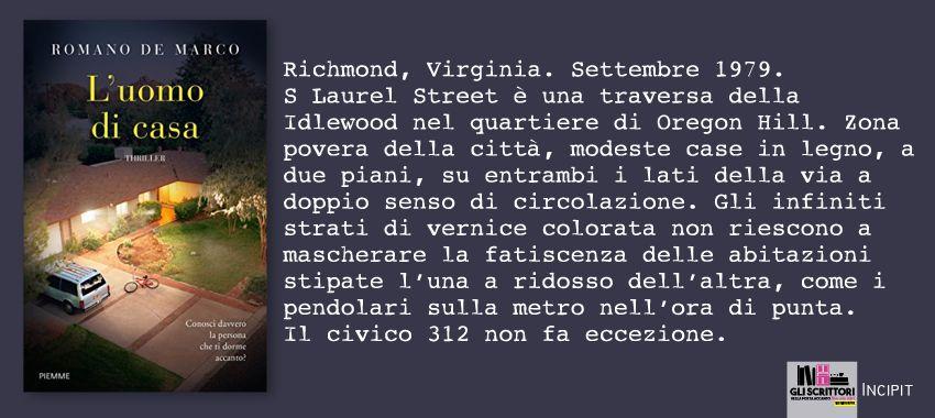 L'uomo di casa, di Romano De Marco