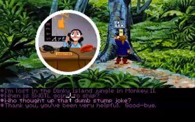 Huevo de Pascua Monkey Island 2 teléfono