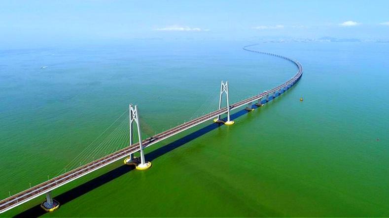 สะพานฮ่องกง-จู่ไห่-มาเก๊า (Hong Kong-Zhuhai-Macao Bridge: HZMB)