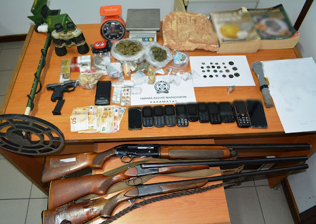 Εξαρθρώθηκε εγκληματική οργάνωση για διακίνηση ναρκωτικών στην Πελοπόννησο