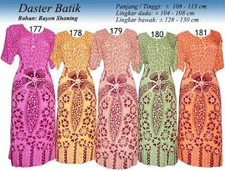 daster batik pekalongan murah 177 181