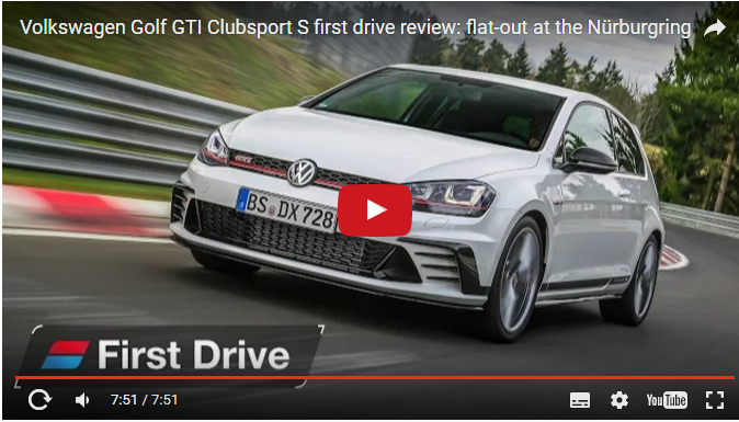 Simple 2016 Volkswagen Golf GTI Clubsport S First Drive Review