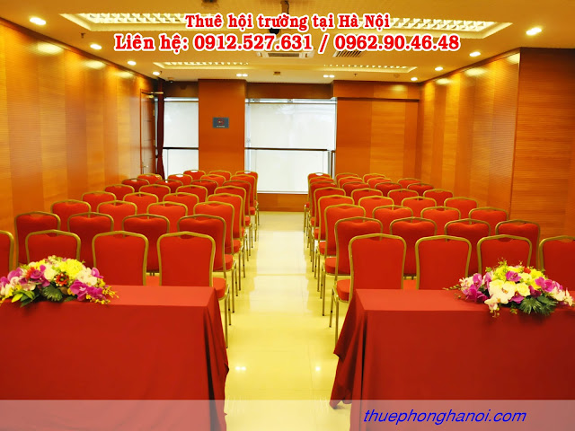 Cho thuê phòng hội thảo VIP 50 - 80 chỗ.