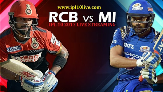 Royal Challengers Bangalore vs Mumbai Indians Match Prediction - IPl 2017