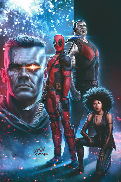 Deadpool 2 Mini Movie Poster by Rob Liefeld