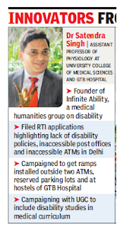 Dr Satendra Singh, founder of 'Infinite Ability'