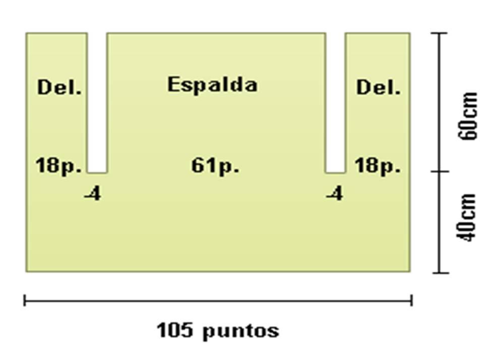 Manos de Tete  Chaleco tejido en 2 agujas 0487692cc614