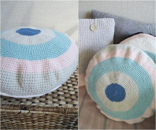 pastelowe poduszki