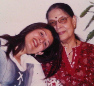 Sangeeta Bijlani With Mother
