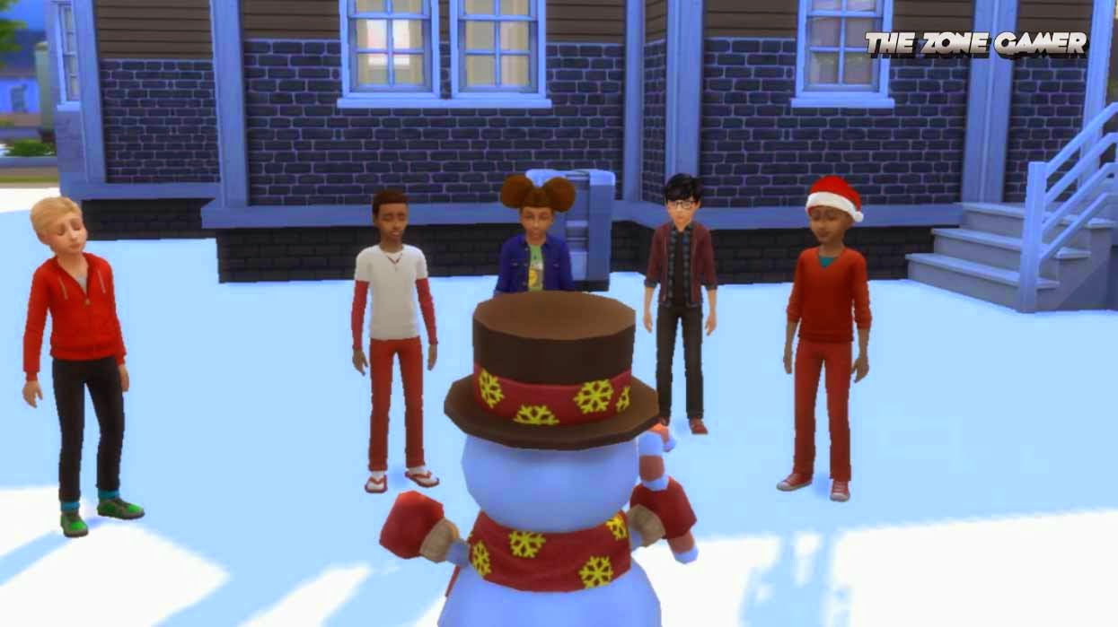 sims 4 it s christmas time in willow creek thezonegamer