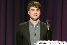 Late Night with Jimmy Fallon: Daniel Radcliffe does stand-up comedy