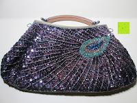 Vorderseite: Sumolux Schöne Handtasche Tasche Partytasche Abendtasche Tasche für Frauen Tasche für Damen Lila