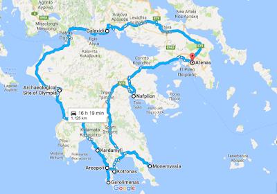 Road Trip 2016 por el Peloponeso, Grecia