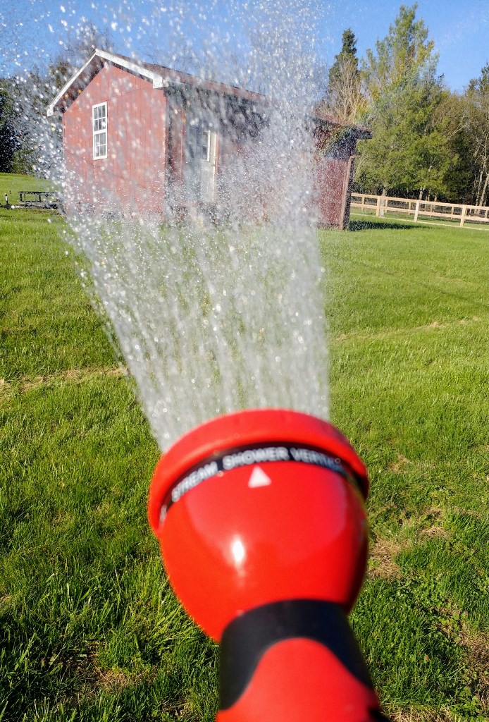 Gardenite Garden Hose Nozzle Sprayer review & giveaway #ad