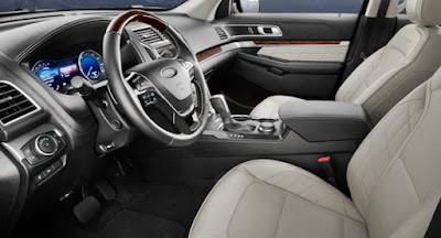 2018 Ford Explorer Platinum Edition Interior