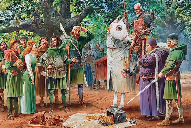 raja richard lionheart bertemu dengan robin hood