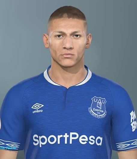 Pes 2019 Faces Lucas Moura By Hugimen: PES 2019 Faces Richarlison By Lucas Facemaker