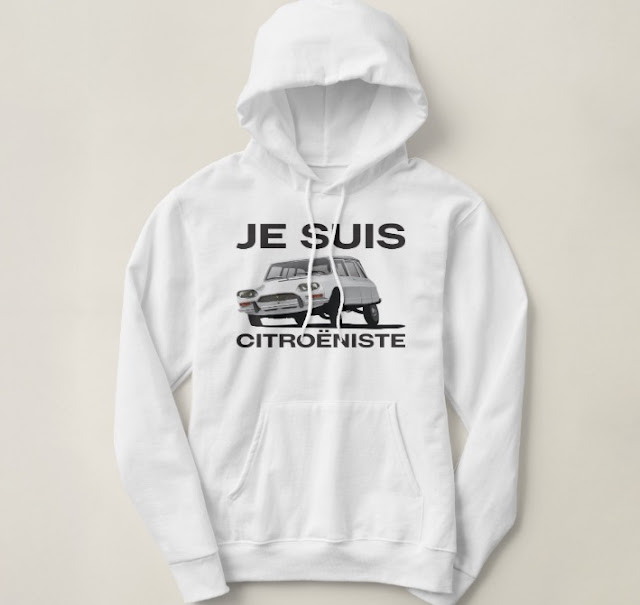Je suis citroeniste shirts citroen ami break 70's