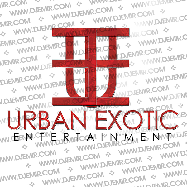 Urban Exotic Entertainment Logo Design Version 1