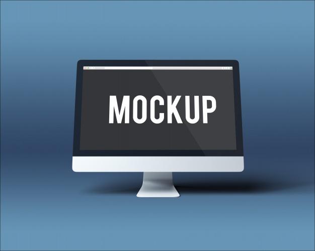 موقع بلال ارتتحميل موك اب شاشة كمبيوترComputer screen mockup Free Psd