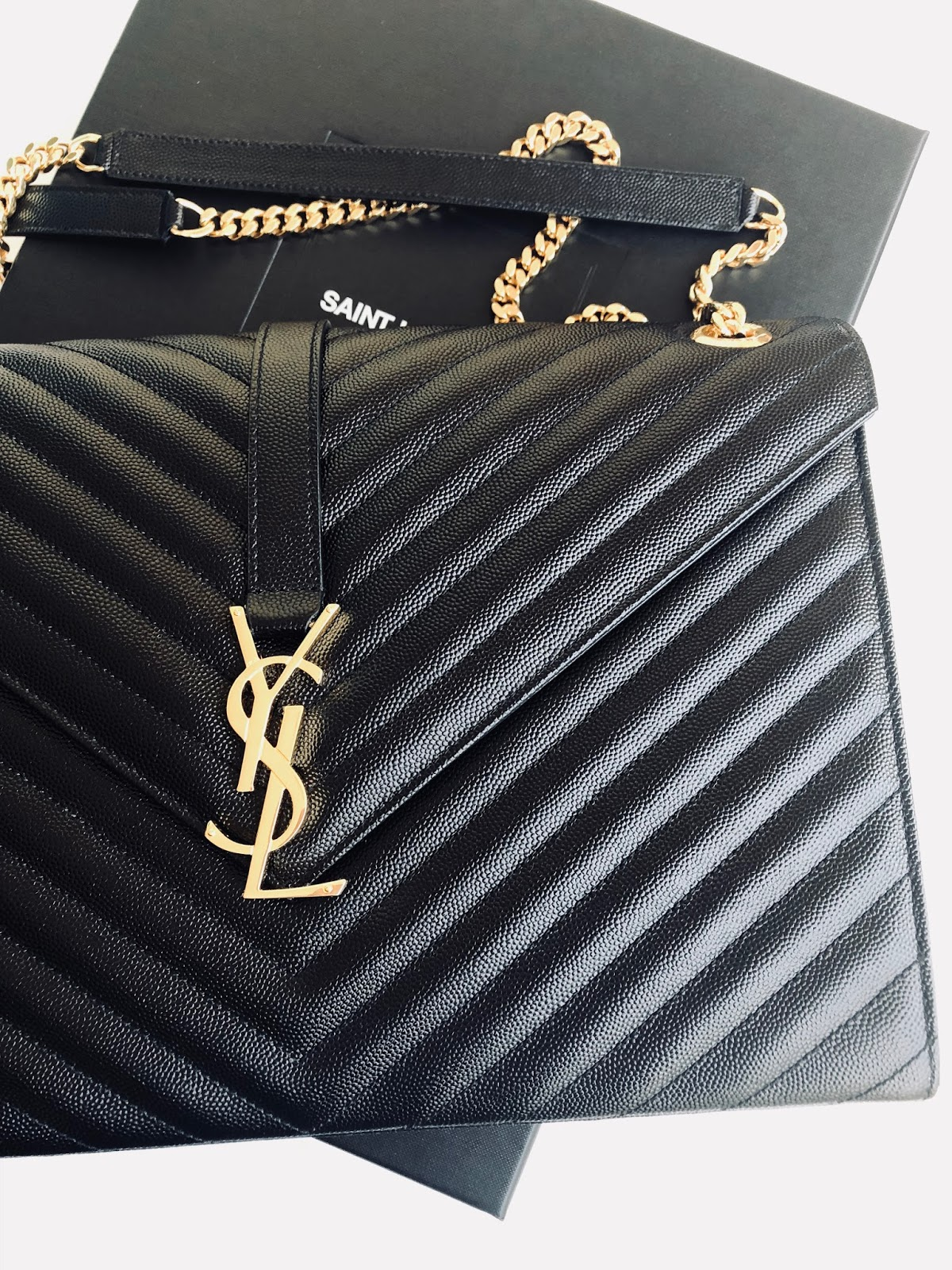 www.ourdubailife.com - Unboxing Day : What I Got For XMAS 2017 YSL Matelasse handbag