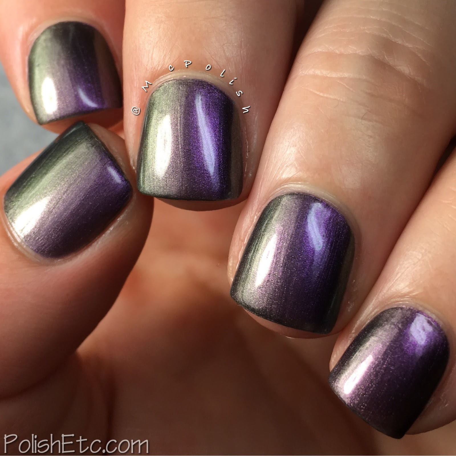 Violet Nails for the #31DC2017Weekly - McPolish - Zoya Ki