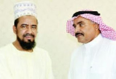 Al-Ghali, left, and Al-Ghamdi, right.