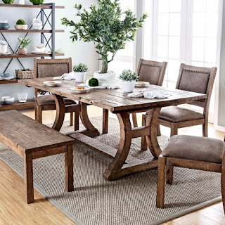Steps To Create A Rustic Style Dining Room That Is Simple And Trendy