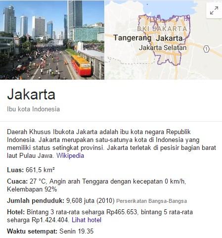23 Fakta Jakarta Yang Menarik dan Unik untuk menambah wawasan