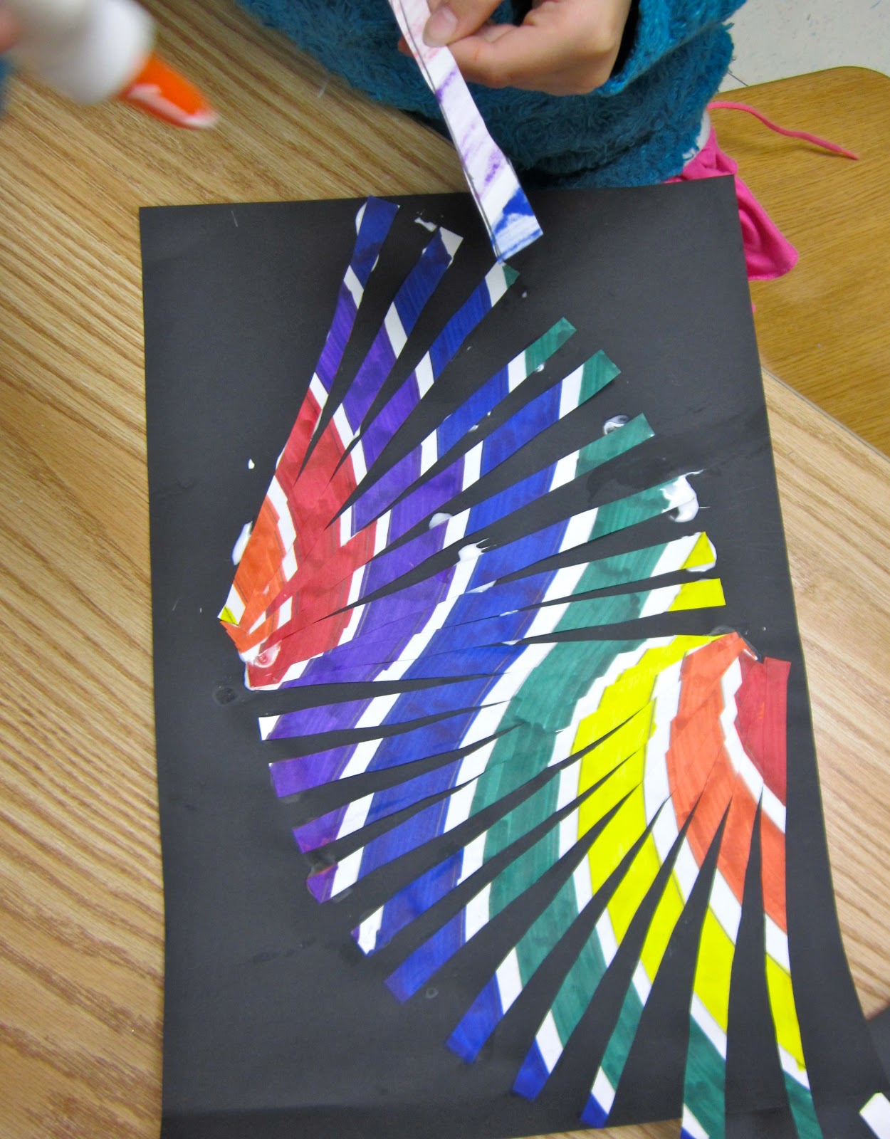 Amazing Art Adventures Moving Lines 3rd Grade