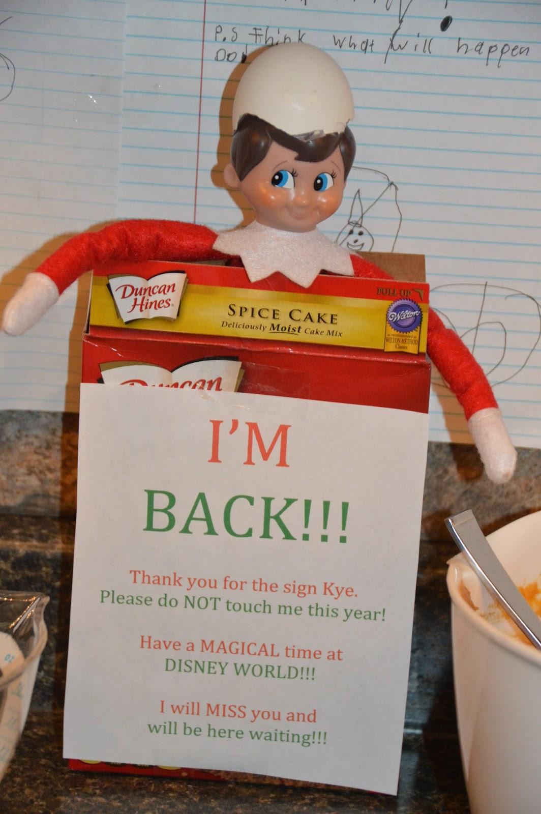 Elf on the Shelf 2016
