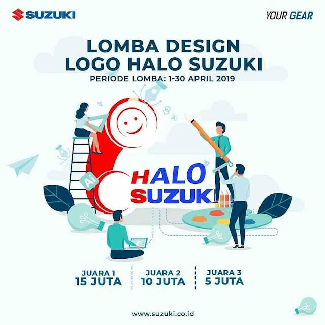 Lomba Desain Logo Halo Suzuki 2019 Umum Gratis Hadiah 30Juta