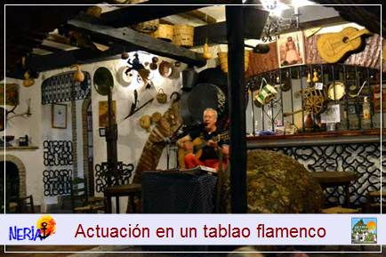 Flamenco Bar típico El Molino - Tasca de Frasco en la serie Verano Azul