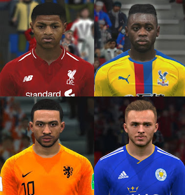 PES 2017 Facepack March 2019 by ABW_FaceEdit