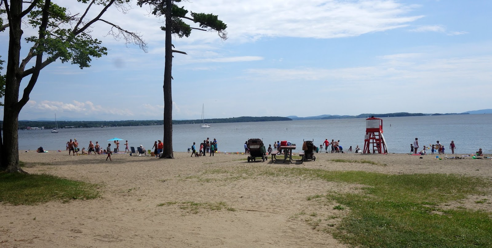 Best Beaches On Lake Champlain