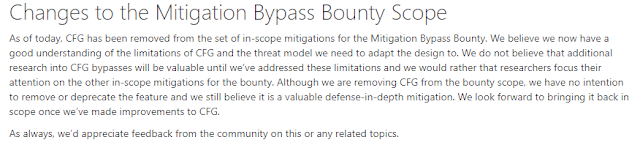 changes to the mitigation bypass bounty scope imagen