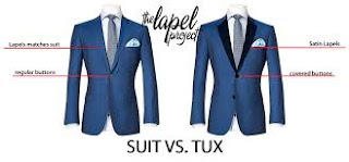 Customized lapels for suit jackets