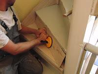 Treppenrenovierung - Der Glassauger / Lamiantheber