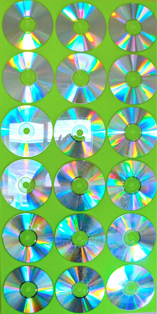 CD wall art