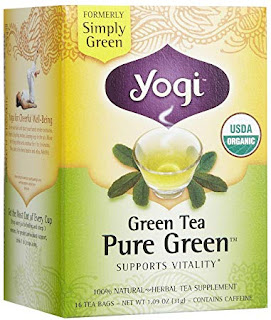 Yogi pure  yogi pure green tea for weight loss  yogi green tea  yogi tea  pure green tea leaves  yogi green tea benefits