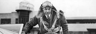Aviation pioneer Howard Hughes Climbs in his H-1 Racer