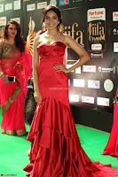 Reetu Varma smiling beauty in Deep Neck Red Gown at IIFA Utsavam Awards 2017  Day 2  Exclusive 33.JPG