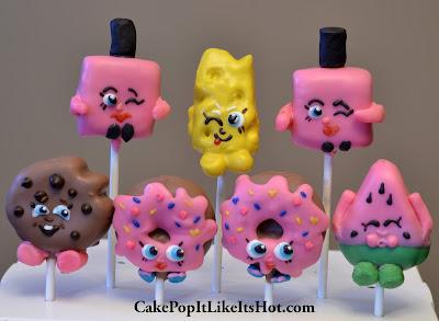 Shopkins; Shopkins cake pops