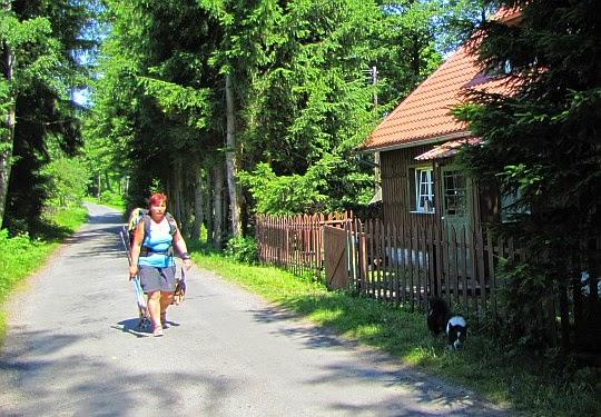 Wieś Ponikwa.