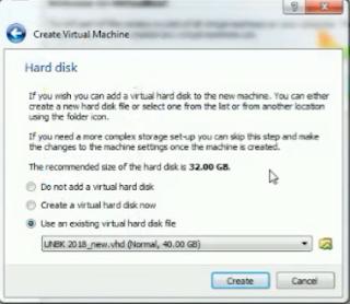 Cara Membuat Virtual Mesin UNBK yang Benar